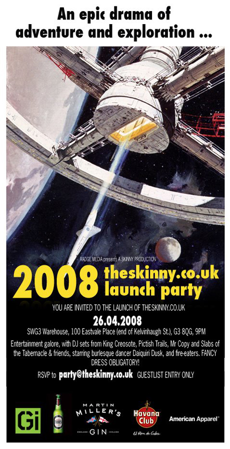 Skinny Launch Flyer