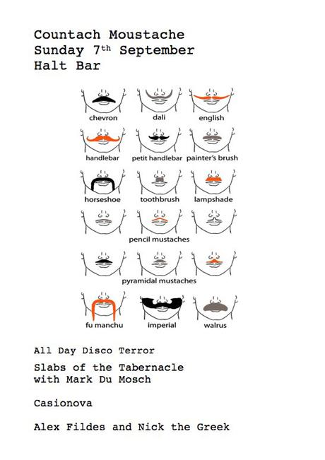 Countache Moustache